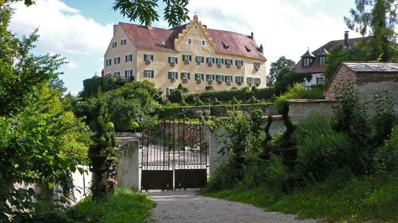 Weihnachtsmarkt Hexenagger.Burgenseite Schloss Hexenagger